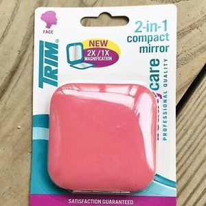NEW Trim 2 in 1 compact mirror purse travel